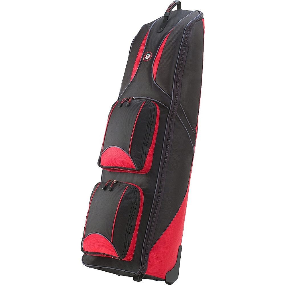 Golf Travel Bags LLC Journey 4.0 Black Red Golf Travel Bags LLC Golf Bags
