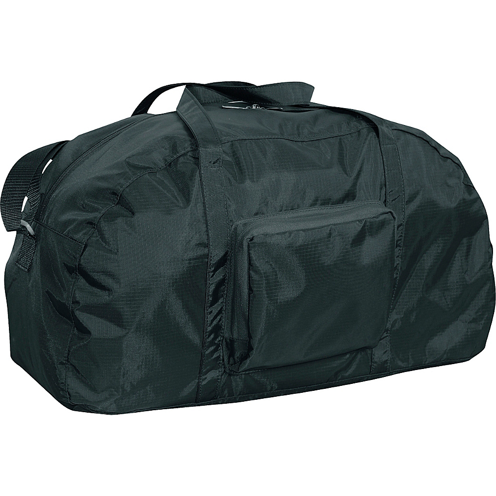 "Netpack 23"" Packable lightweight duffel Black - Netpack Packable Bags"