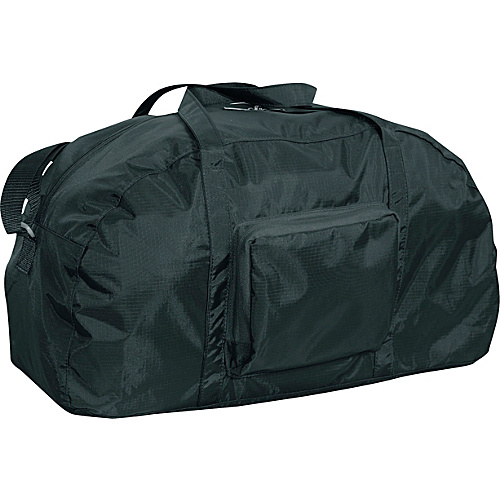 "Netpack 23"" Packable lightweight duffel Black - Netpack Lightweight packable expandable bags"