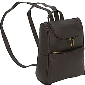Women's Everyday Backpack Purse Café