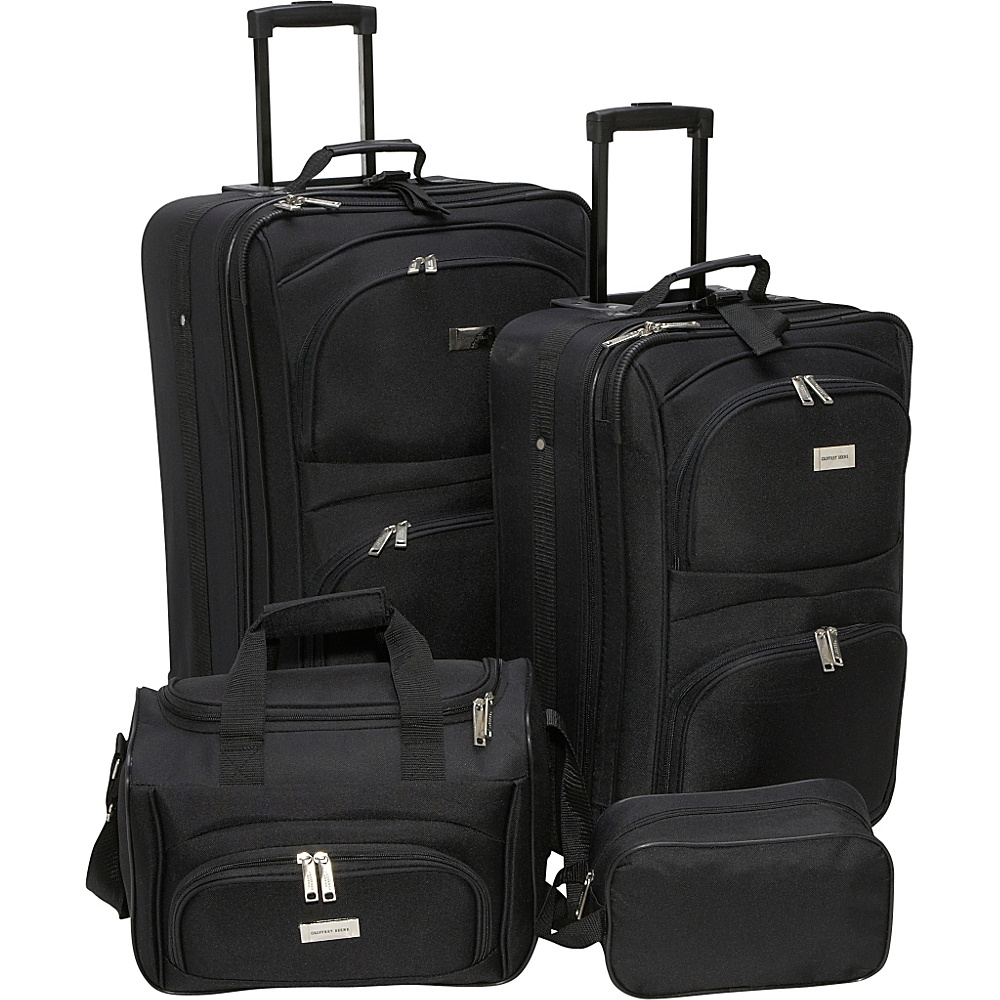 Geoffrey Beene Luggage 4 Piece Westchester Luggage Set