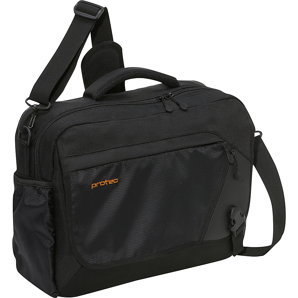 Protec Deluxe Notebook/Tablet Messenger Bag Black - Protec Laptop Messenger Bags