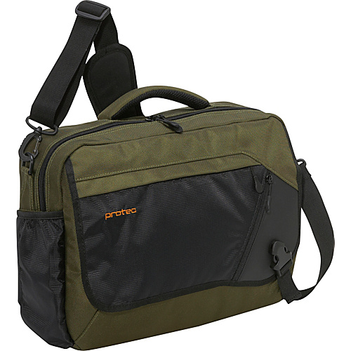Protec Deluxe Notebook/Tablet Messenger Bag - Surplus
