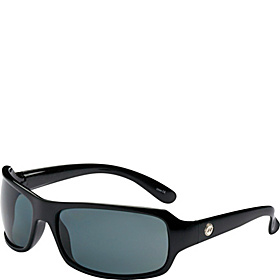 Gemini Polarized Sunglass Shiny Black