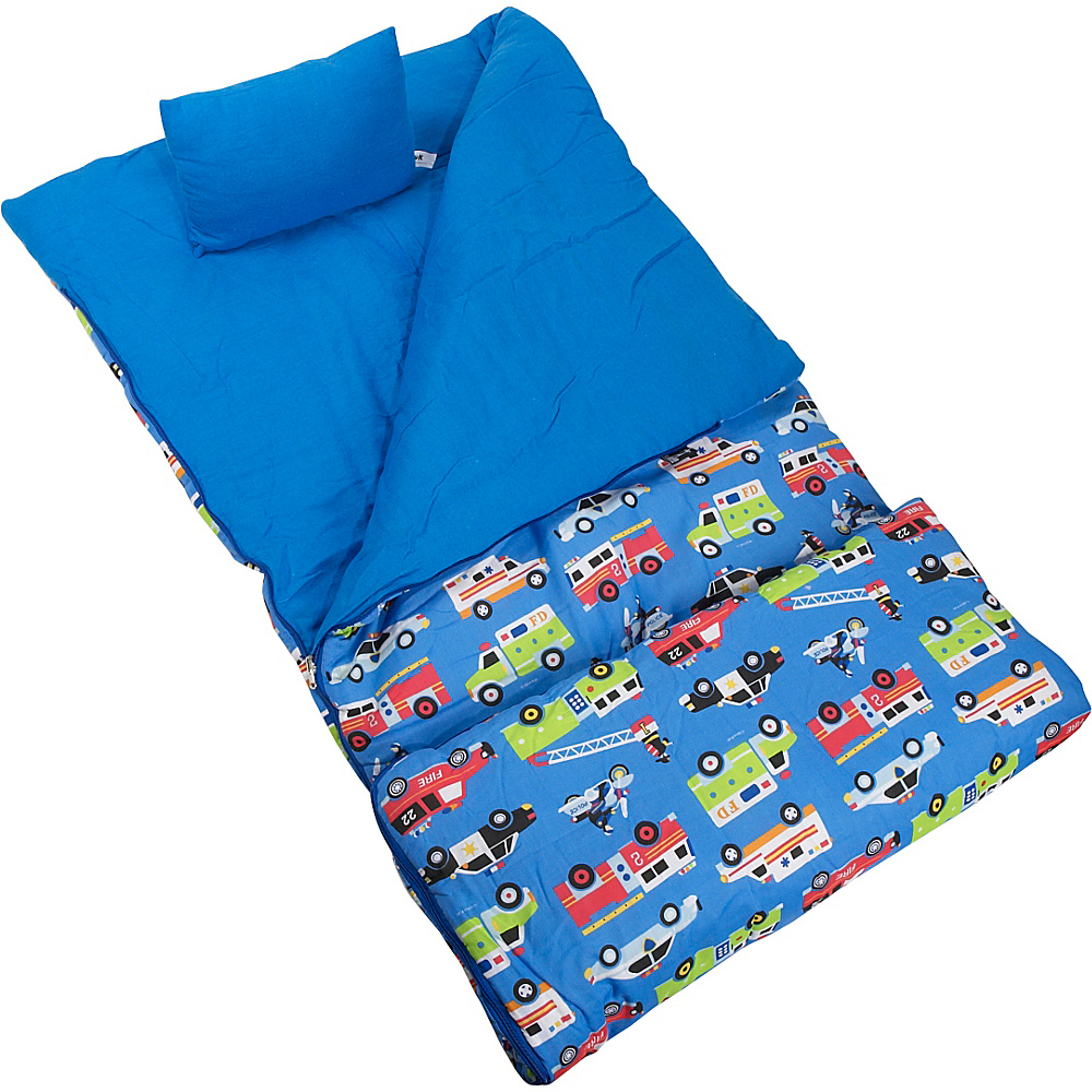 Wildkin Olive Kids Heroes Sleeping Bag - Heroes - Travel Accessories, Travel Pillows & Blankets