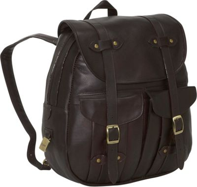 Clava Leather Rucksack Backpack - Vachetta Cafe