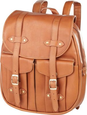 Clava Leather Rucksack Backpack - Vachetta Tan