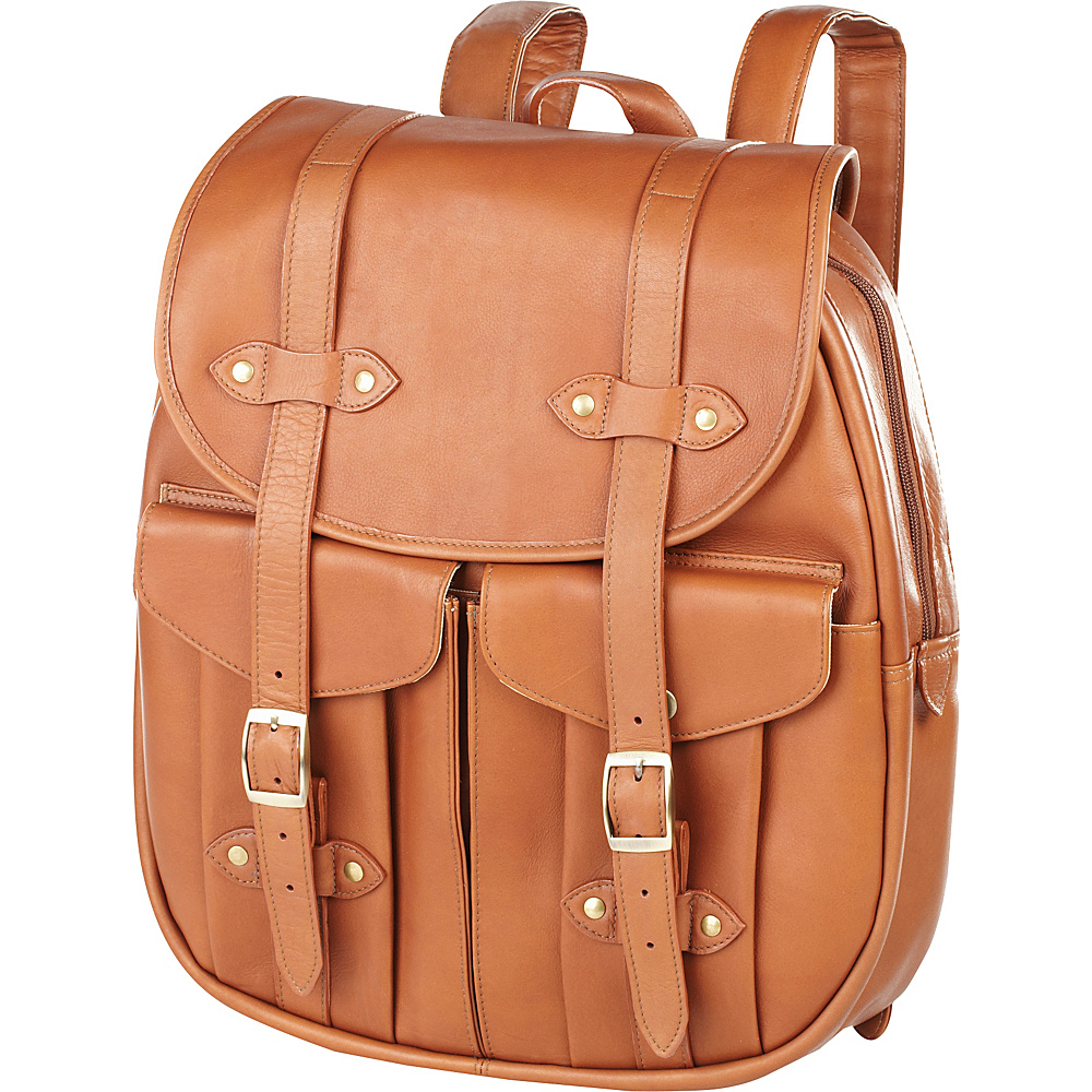 Clava Leather Rucksack Backpack - Vachetta Tan - Backpacks, Everyday Backpacks