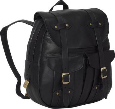 Clava Leather Rucksack Backpack - Vachetta Black