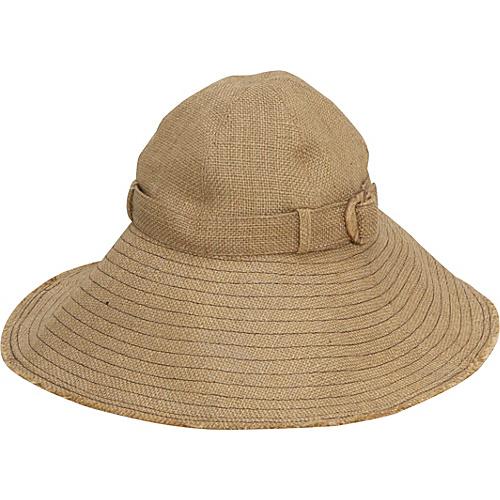San Diego Hat Jute Sun Hat - Natural