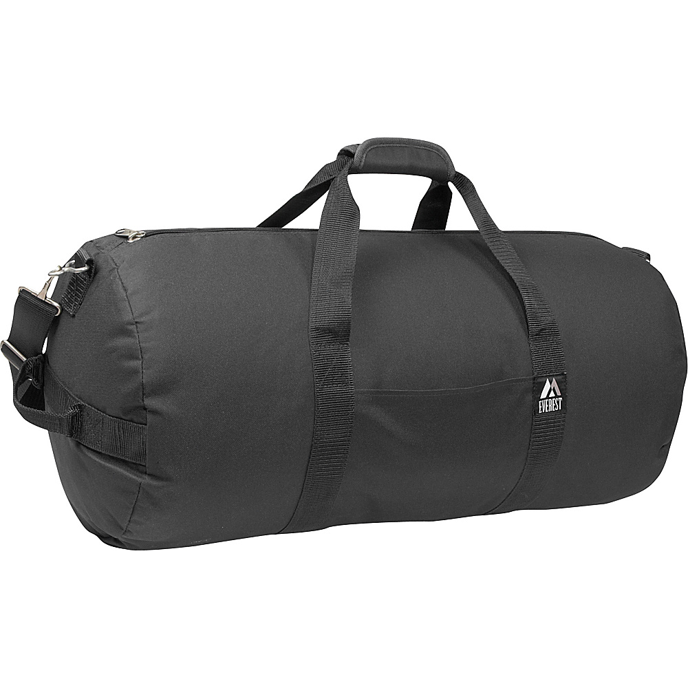 Everest 23 Round Duffel - Black - Duffels, Travel Duffels