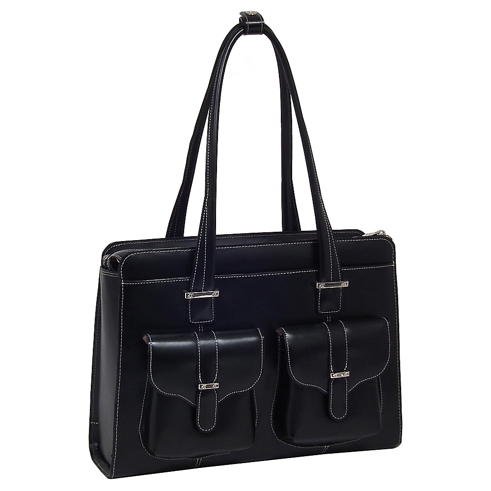 McKlein USA Alexis 14  Ladies Laptop Case Black - McKlein USA Womens Business Bags - Work Bags & Briefcases, Women's Business Bags