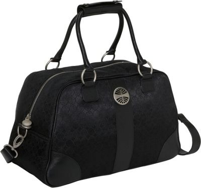 Pan Am Signature Explorer Bag SIGNATURE BLACK - Pan Am Luggage Totes and Satchels