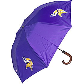 Minnesota Vikings Woody Umbrella PURPLE