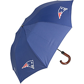 New England Patriots Woody Umbrella Navy