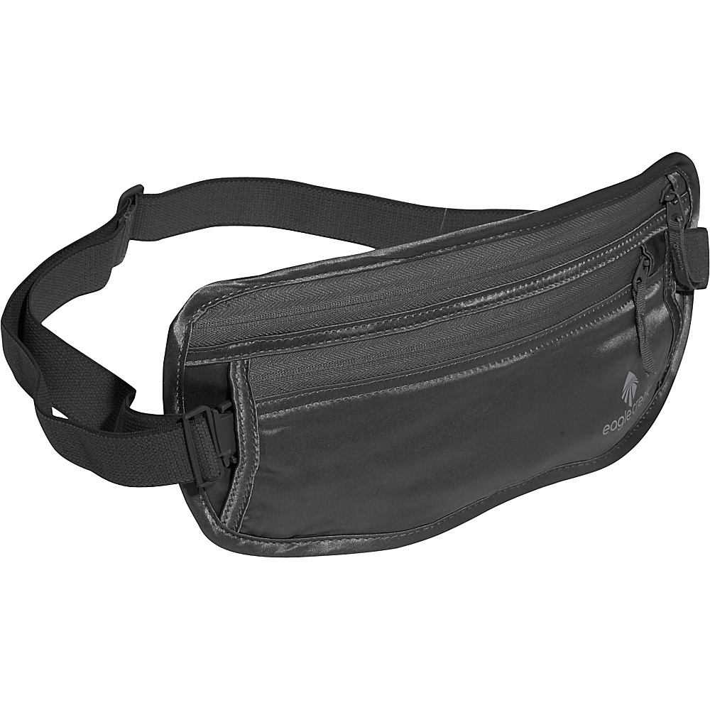 Eagle Creek Silk Undercover Money Belt - Black - Travel Accessories, Travel Wallets