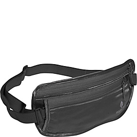 Silk Undercover Money Belt Black