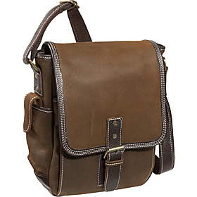 The Outback Sling iPad / Netbook Messenger Brown