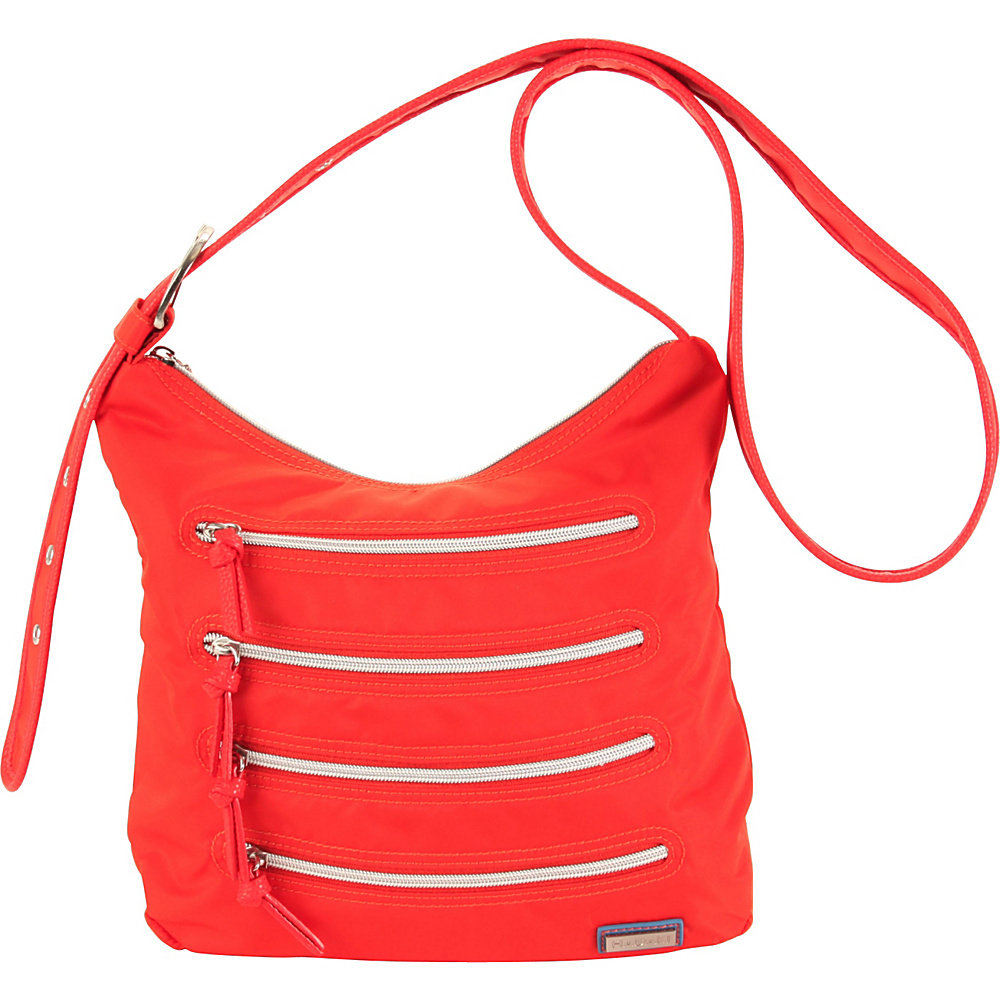 Hadaki Millipede Tote Fiery Red Solid - Hadaki Fabric Handbags - Handbags, Fabric Handbags