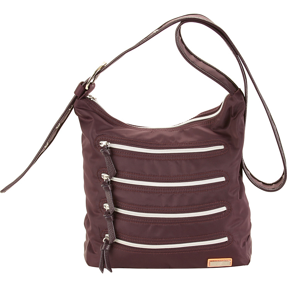 Hadaki Millipede Tote Plum Perfect Solid - Hadaki Fabric Handbags - Handbags, Fabric Handbags