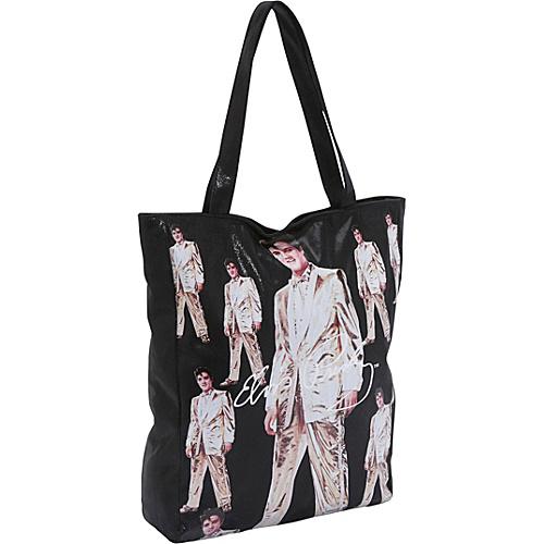 Ashley M Elvis Metallic Tote Bag - Tote