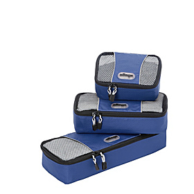 Slim Packing Cubes - Assorted 3PC Set Denim