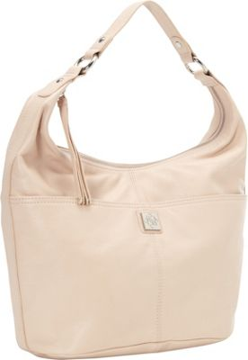 Piazza Ava Hobo Blush - Piazza Leather Handbags