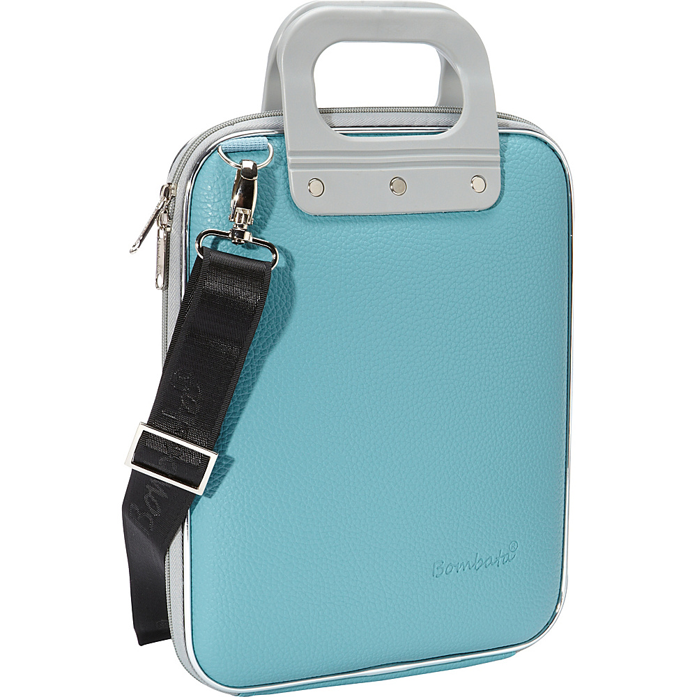 Bombata Micro Tablet Briefcase Turquoise Bombata Non Wheeled Business Cases