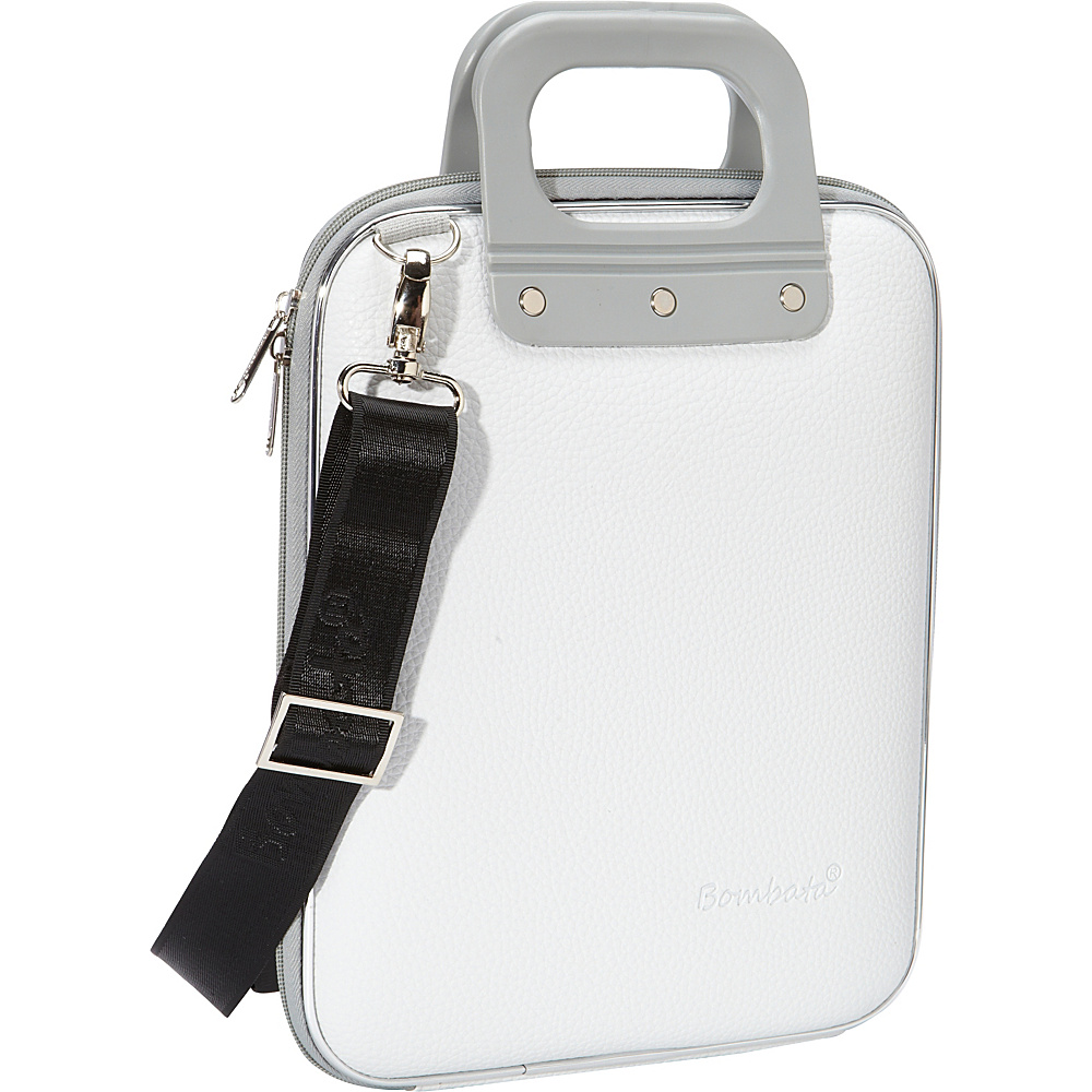 Bombata Micro Tablet Briefcase White Bombata Non Wheeled Business Cases