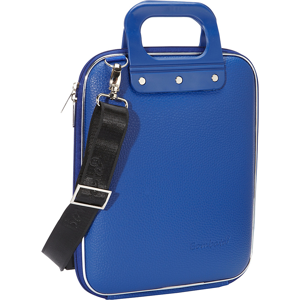 Bombata Micro Tablet Briefcase Cobalt Blue Bombata Non Wheeled Business Cases