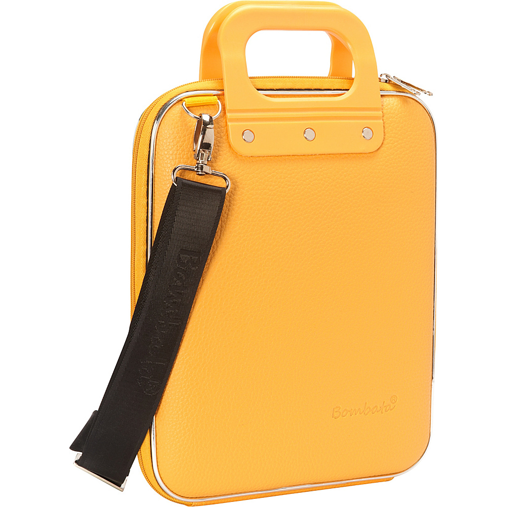Bombata Micro Tablet Briefcase Classic Yellow Bombata Non Wheeled Business Cases
