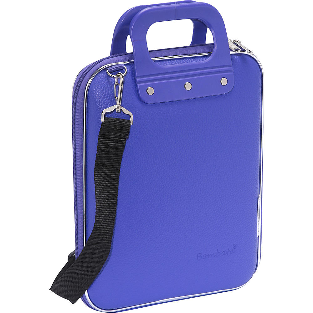 Bombata Micro Tablet Briefcase Purple Bombata Non Wheeled Business Cases