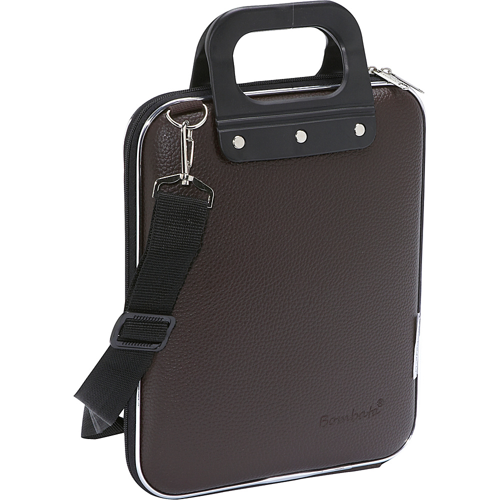 Bombata Micro iPad Briefcase Brown