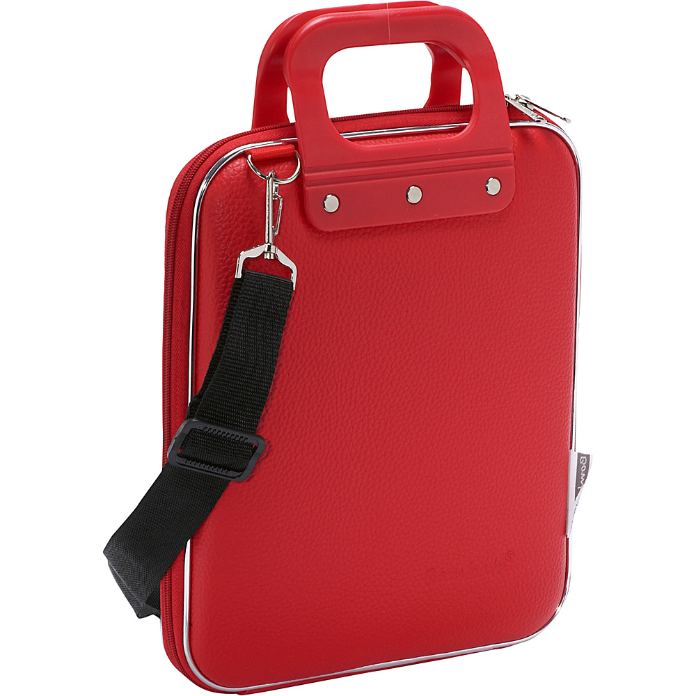 Bombata Micro Tablet Briefcase Red Bombata Non Wheeled Business Cases