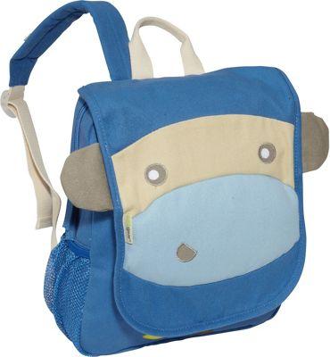 ecogear EcoZoo Kid's Backpack Blue Monkey - ecogear Everyday Backpacks