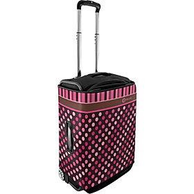 Small Luggage Cover - Polka Dots Pink Polka Dots