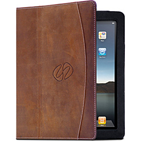Premium Leather Folio for iPad 3/4 Vintage