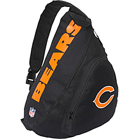 Chicago Bears Slingback Slingbag Black