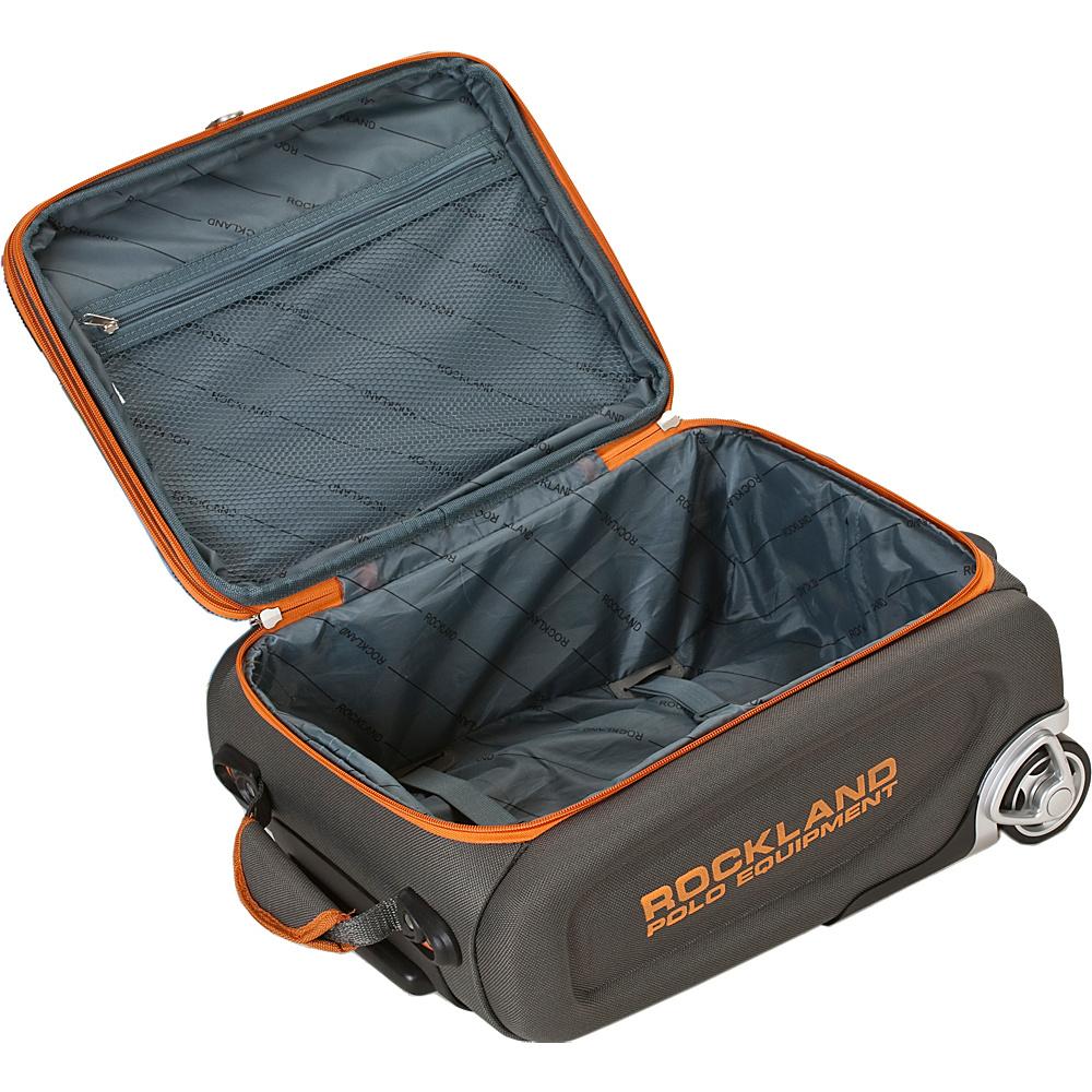 Rockland Luggage Polo Equipment 4 Piece Luggage Set