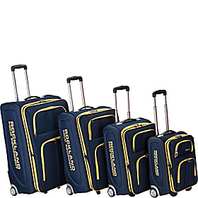 Polo Equipment 4 Piece Luggage Set Navy