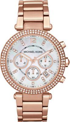 Michael Kors Watches Parker Watch Rose Gold - Michael Kors Watches Watches