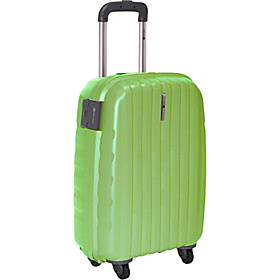 Helium Colours Carry On 4 Wheel Trolley Lime