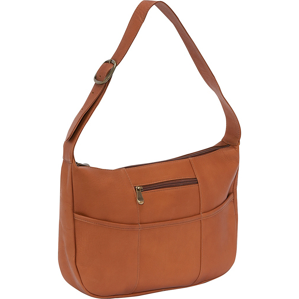 Le Donne Leather Quick Slip Shoulder Bag - Tan - Handbags, Leather Handbags