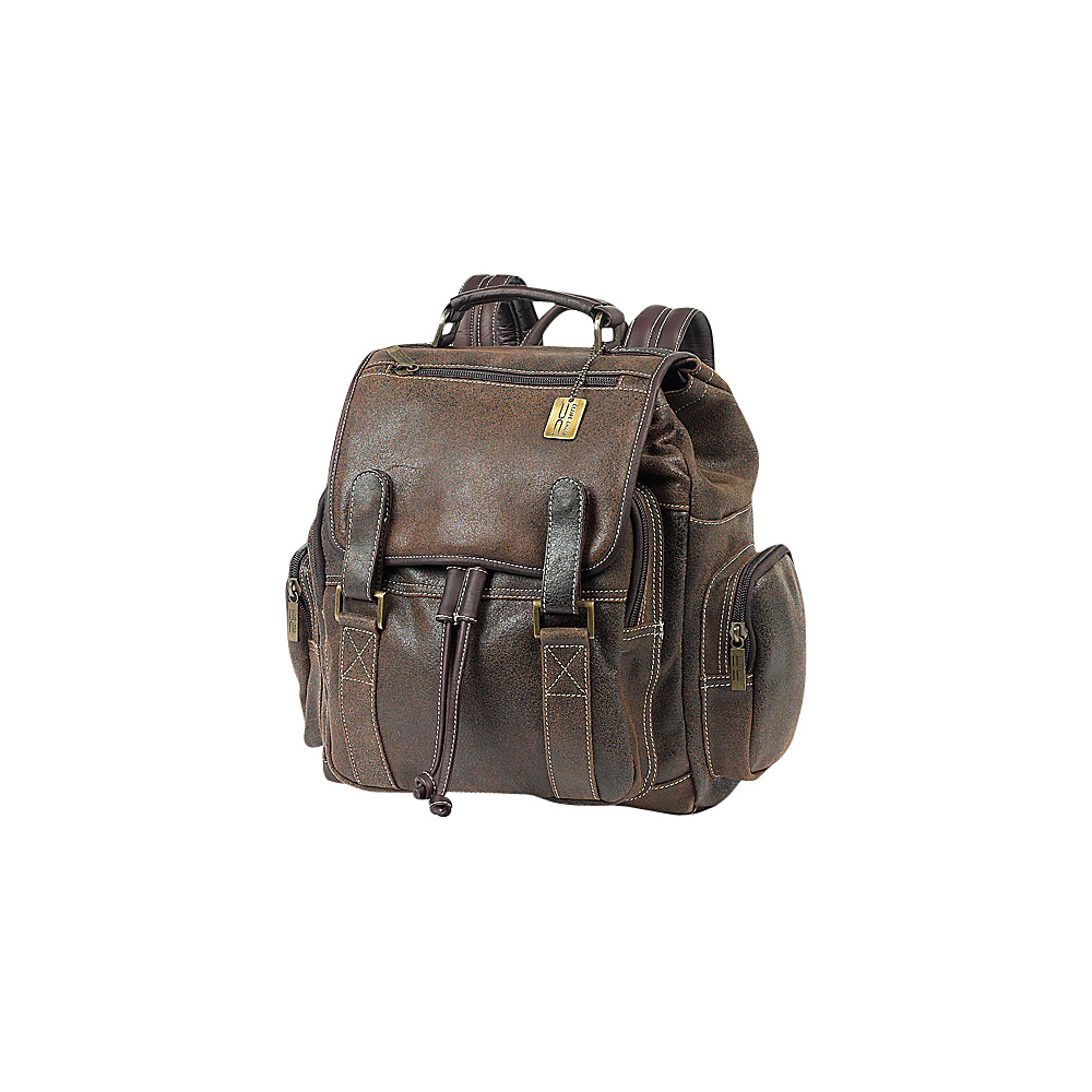 ClaireChase Sierra Laptop Back Pack - Distressed Brown - Backpacks, Business & Laptop Backpacks