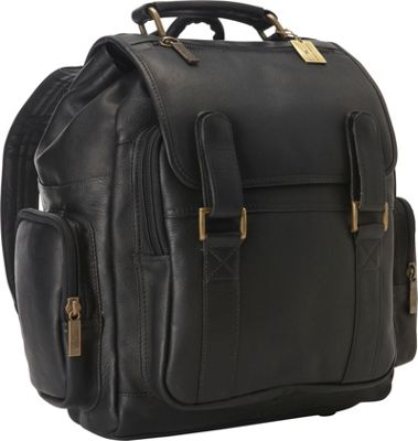 ClaireChase Sierra Laptop Back Pack Black - ClaireChase Business & Laptop Backpacks