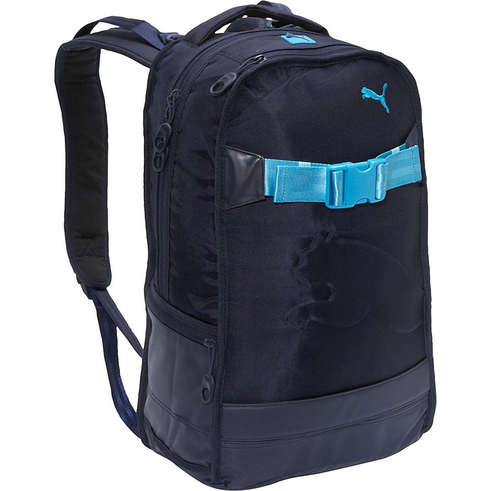 59c5f3d451 UPC 886510000545 product image for Puma Blueprint Skate Backpack Navy Blue  - Puma Laptop Backpacks