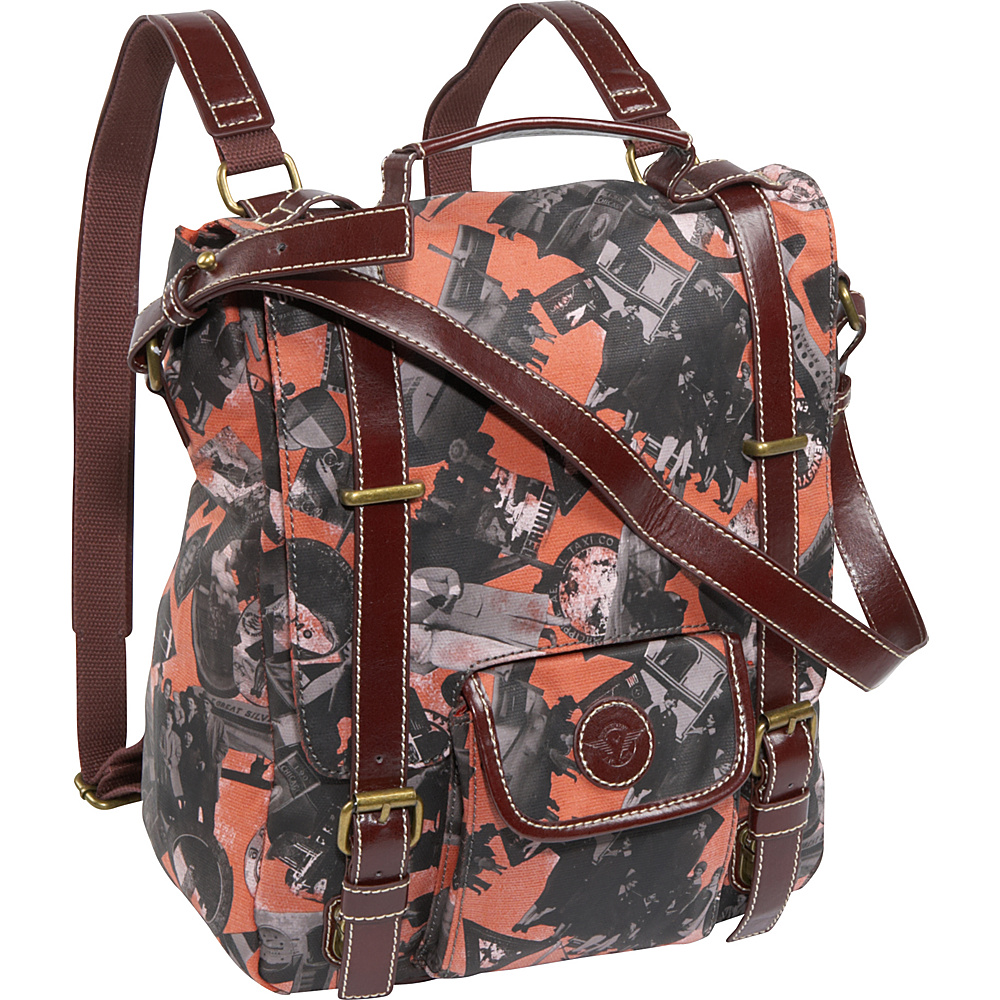 Sydney Love Going Places Backpack - Tote - Handbags, Fabric Handbags