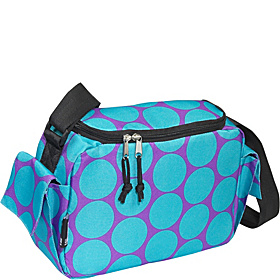 Big Dots Aqua Lunch Cooler Big Dots Aqua