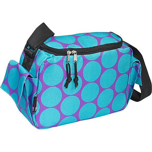 Wildkin Big Dots Aqua Lunch Cooler - Big Dots Aqua
