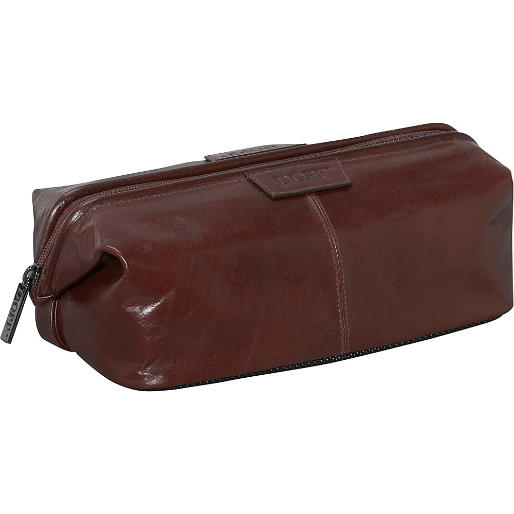 Dopp Veneto Traditional Framed Travel Kit - Brown - Travel Accessories, Toiletry Kits